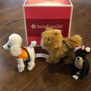 American Girls Julie's dog walking set